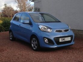 Kia Picanto 2011/11 For Sale, Only 15,715 Miles And One Owner
