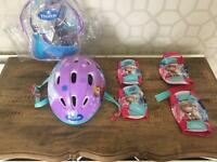 Child's frozen helmet pack