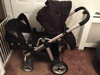 ICandy double pram, pear 2