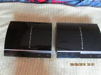 2 x Sony PS3 Consoles