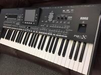 Korg Pa3x 61 keyboard with 256 MB ram included