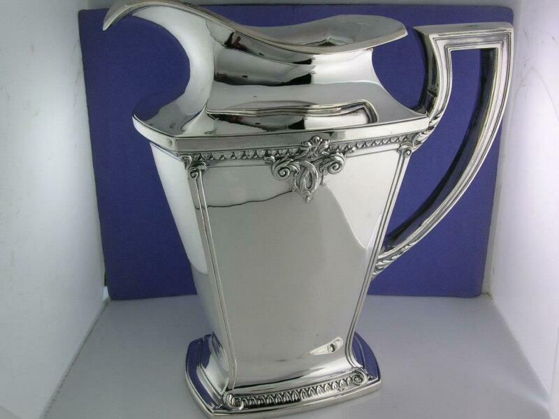 Sterling INTERNATIONAL Water Pitcher TRIANON ~no mono ~exc cond