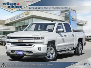 2016 Chevrolet Silverado 1500 2LZ 1 OWNER, ACCIDENT FREE