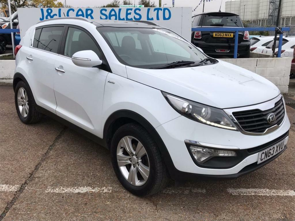 KIA SPORTAGE 2.0 CRDI KX-2 5d 134 BHP A GREAT EXAMPLE INSIDE AN (white) 2013