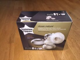 Tommee Tippee Electric Breast Pump. Practical brand new, used only once and in perfect condition