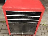 Red Used Tool Trolley