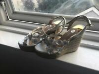 River Island Wedges size 7