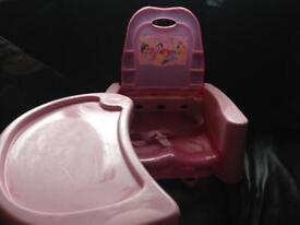 Princess chair and tray