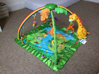 Fisher Price Rainforest Baby Gym, excellent condition