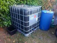 IBC Black, 1000ltr storage, clearance £10
