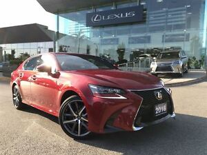 2016 Lexus GS 350 F-Sport AWD NAVIGATION LEATHER SUNROOF