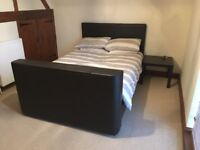 Double Bed with built in television