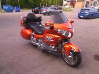 Honda Goldwing 2002 Orange