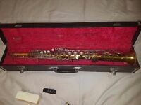 Mark VI Style Vintage Soprano Saxophone