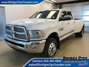 2016 Ram 3500 Laramie Dually! Leather, Sunroof, NAV!