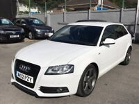 AUDI A3 BLACK EDITION FULL SERVICE 2 OWNER 5Dr WHITE