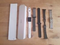 Apple Watch Series 2 (42mm) With 6 Straps and Charging Stand