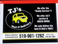 TJ'S TAXI AND DELIVERY