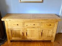 Immaculate Solid Oak Sideboard