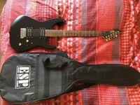 Electric guitar & amp - ESP/Ltd M-50 Black + Medeli AG30, 30W amp