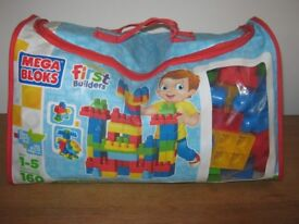 MEGA BLOCKS FIRST BUILDERS IN BAG