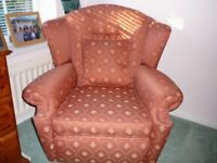 Single Armchair + Cushion - Can deliver