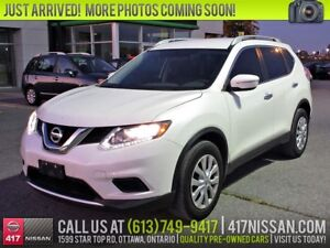 2015 Nissan Rogue S | Rear Camera, Bluetooth, Cruise