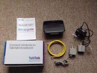 TalkTalk D-Link Wireless Router DSL-3680 N150 ADSL+2 Bundle