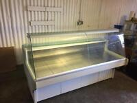 Counter service display fridge 2m for restaurant takeaway cafe pizza shops cake