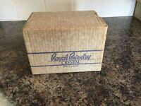 Royal Brierley Crystal Sherry Glasses