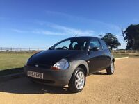Ford KA 1.3 - Black - 2002 - 62.7k Miles - New MOT
