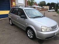 2005 Kia carens 5 door mpv 12 months mot/3 months warranty