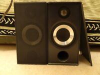 Arcam Muso bookshelf loudspeakers, excellent condition, gunmetal grey