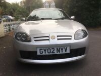 Excellent condition MG TF, Rare Hard/Soft top. Brand new MOT, Low Mileage.