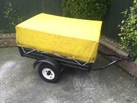 All metal trailer + extension top (double height)