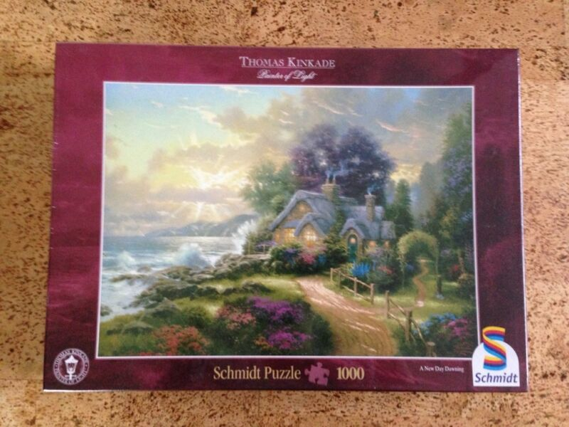 thomas kinkade painter of light schmidt puzzle in nordrhein westfalen lippstadt. Black Bedroom Furniture Sets. Home Design Ideas