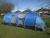 6 Man Tent for sale with loads of extras