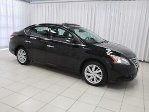 2014 Nissan Sentra SL WITH LEATHER, NAVIGATION , ALLOYS AND SO M