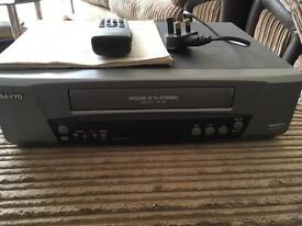 Sanyo video cassette recorder