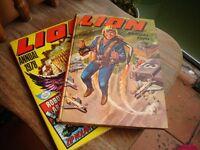 2x Lion Annuals 1970 &1978