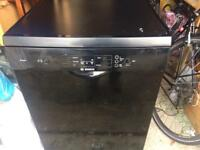 Bosch excell dishwasher in black - second hand - working fine!