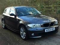 BMW 120d DIESEL AUTOMATIC FULL BLACK LEATHER SEATS