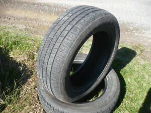 Two 235-60-18 tires $120.00