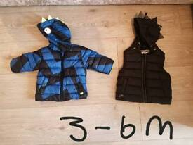 Boys next coats 3-6m