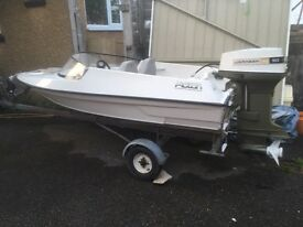 Picton 12ft speedboat