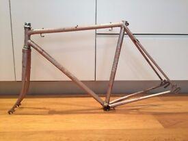 """Vintage Marlboro 21.5"""" Lugged Steel Bike Frame"""