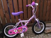 2 Kids Bikes, 1 girls aged 3-6, 1 boys aged 3-6 excellent condition