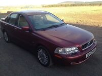 2002 VOLVO S40 RELIABLE CAR SERVICE HISTORY CHEAPER PX WELCOME £195