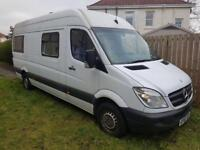Mercedes Benz sprinter 2011 reg Motorhome camper van going cheap Quick sale only