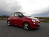 FIAT 500 POPULAR HATCHBACK RED ONLY 71K MILES £30 A YEAR TAX BARGAIN £1895 *LOOK* PX/DELIVERY
